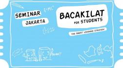 Seminar JAKARTA Bacakilat For Students 17/11/19 logo